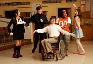Glee's multiracial, multiethnic, multisexual cast