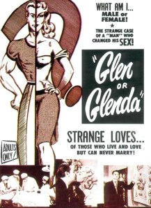 Theatrical poster for Glen or Glenda?