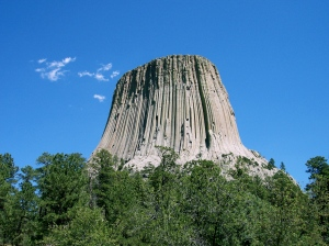 Devil's Tower: NOT made of mashed potatoes.