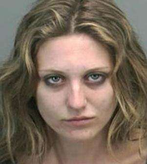Mug Shot Sarah Ann Campbell  Crescent City Ca