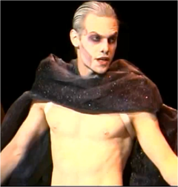 Joe Walker as Lord Voldemort