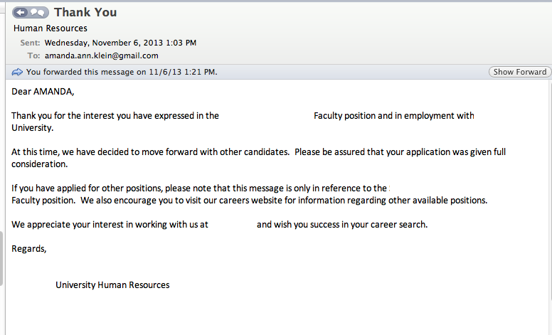 Understanding Your Academic Friend: Job Market Edition (5/6)